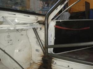 BMW E24 - klatka bezpieczeństwa