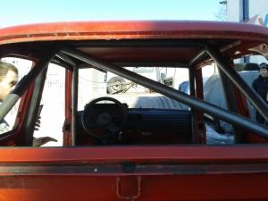 montaż klatek bezpieczeństwa - Fiat 126p LPM