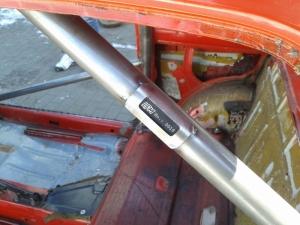 montaż klatki bezpieczeństwa - Fiat 126p LPM